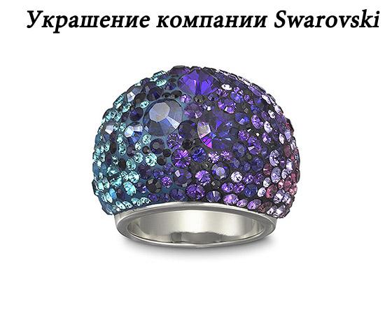 Оригинальное украшение Сваровски