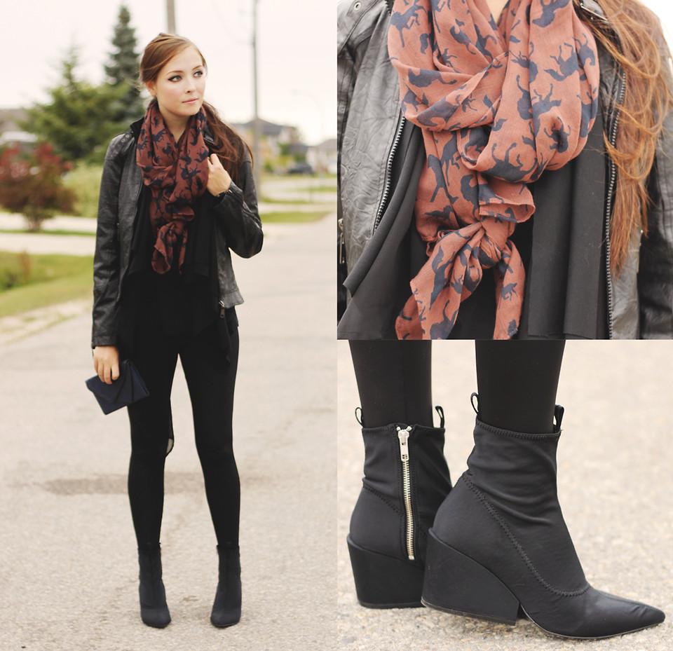 Образ с шарфом №2
