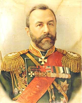 генерал в военном мундире