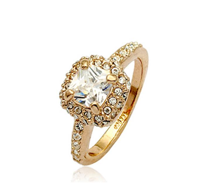 кольцо классика