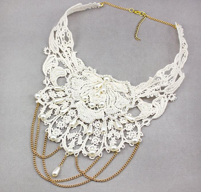 Воротник-ожерелье